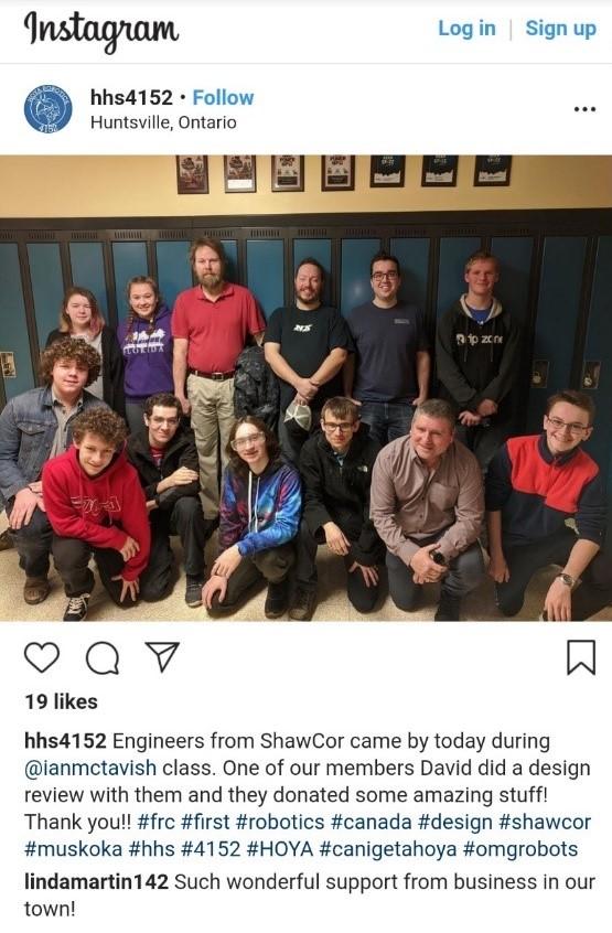 Huntsville High School Instagram