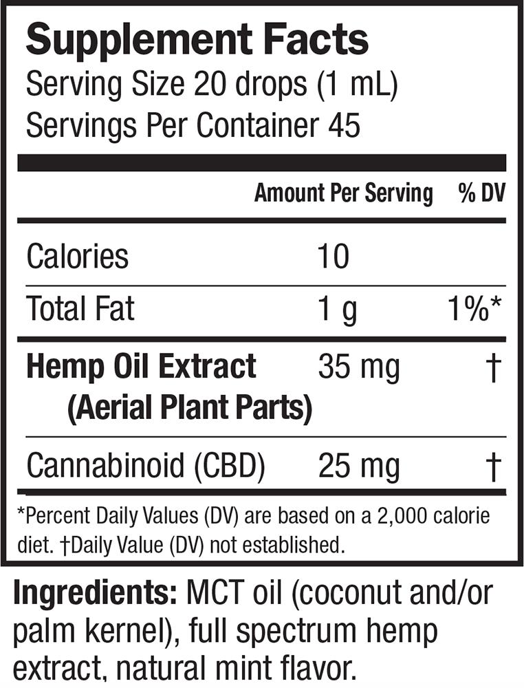 Extra Strength Ideal CBD Hemp Oil