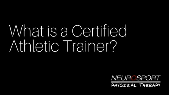 What is a Certified Athletic Trainer