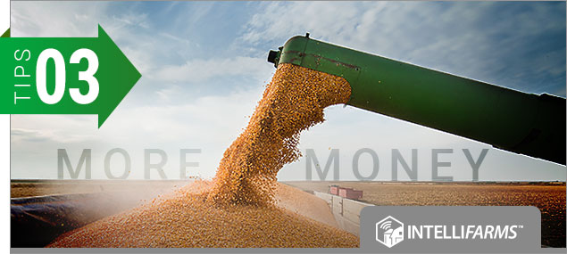 IntelliFarms   3 Tips for         Getting More Money for Your Grain
