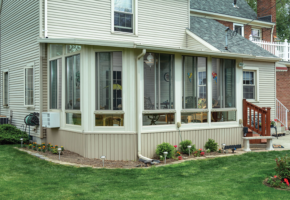 What is a three season porch and what are its benefits for 2 season porch