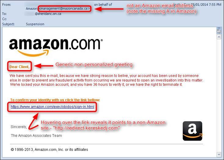 Image result for phishing display name