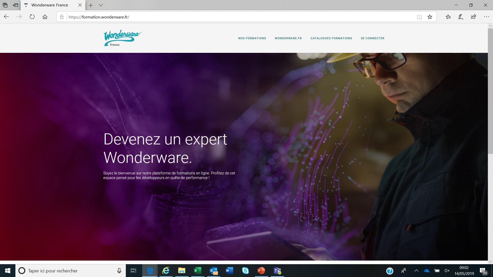 Nouveau : Formations en ligne Wonderware !