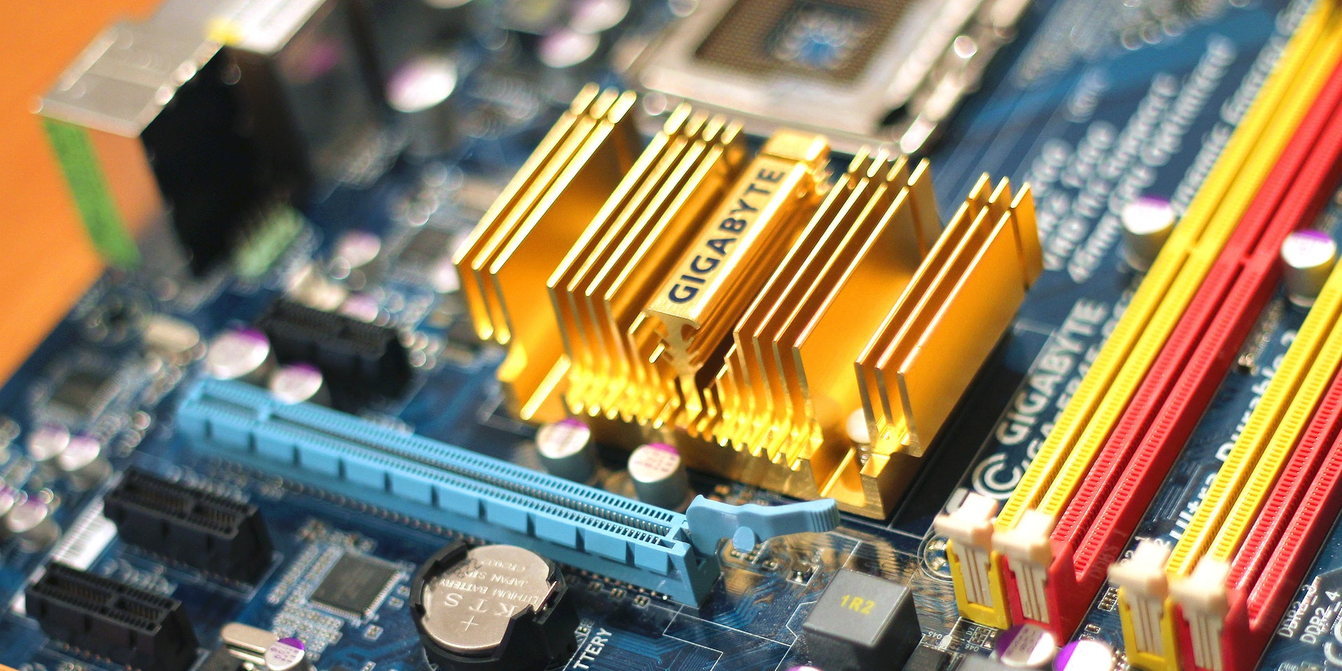 Motherboard picture for information technology