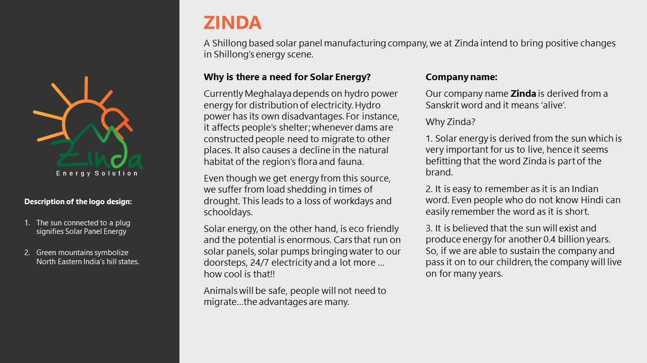 Zynda Logo Description