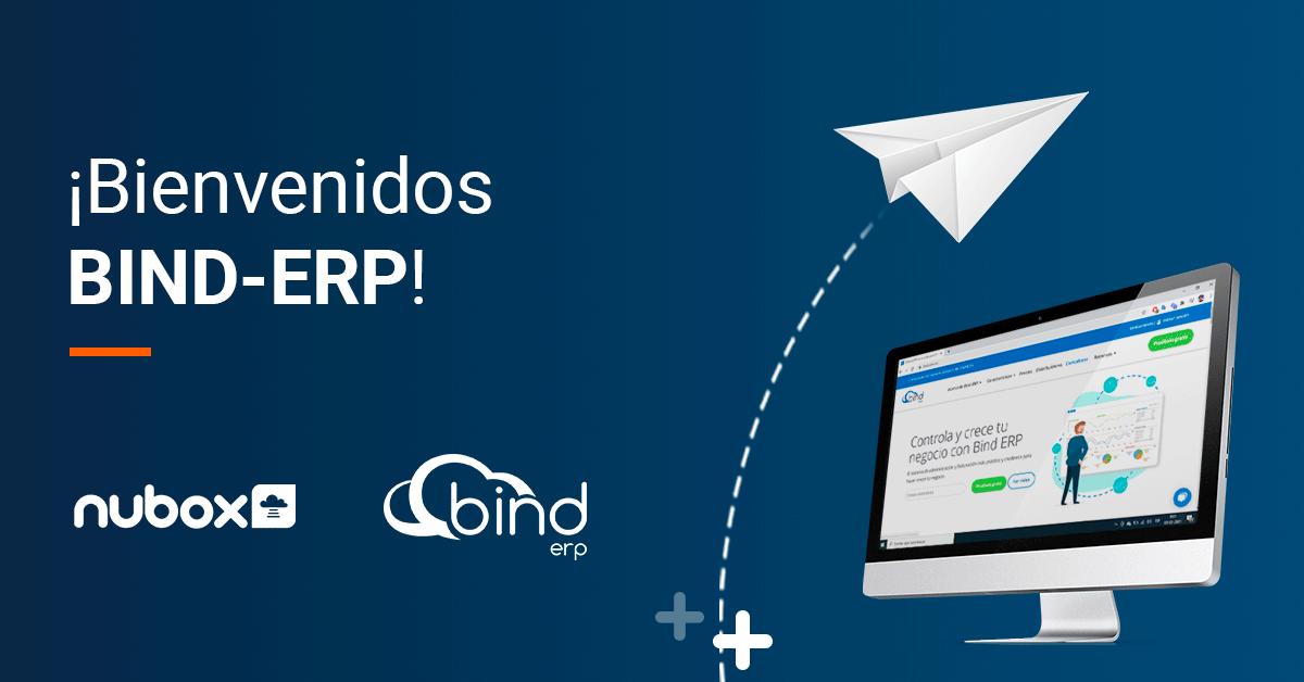 Nubox da la bienvenida a Bind-ERP