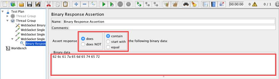 learn to use jmeter's websocket plugin