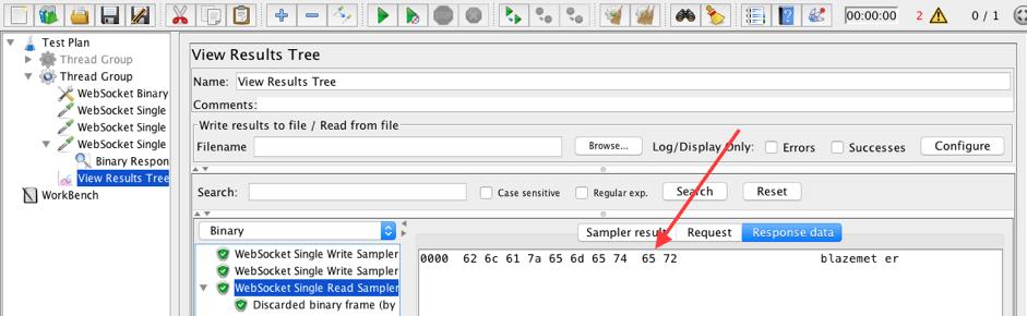 does jmeter have a websocket plugin