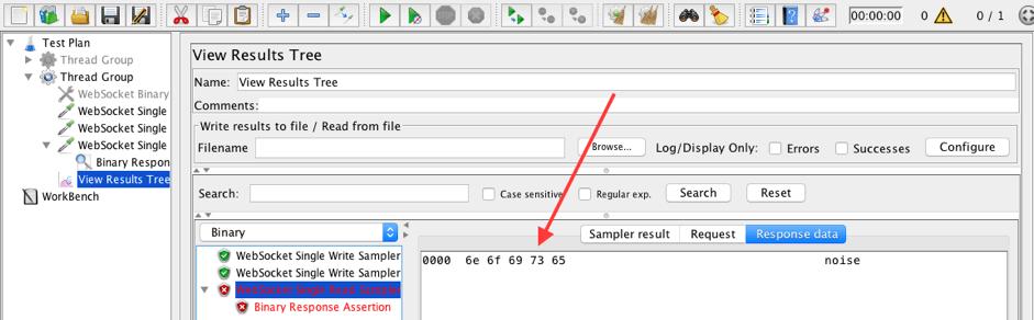 jmeter's new websocket plugin