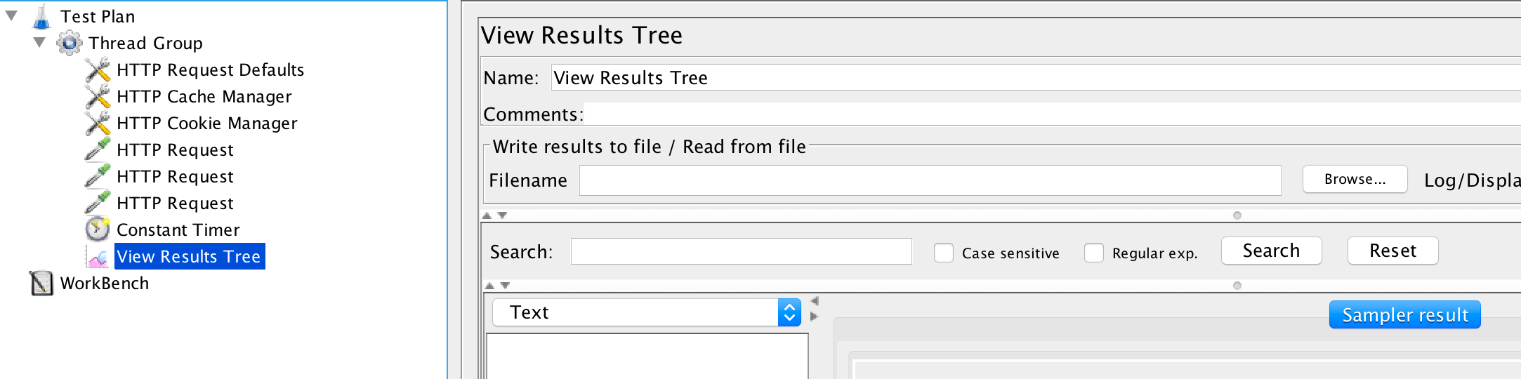 JMeter View Results Tree - Learn how