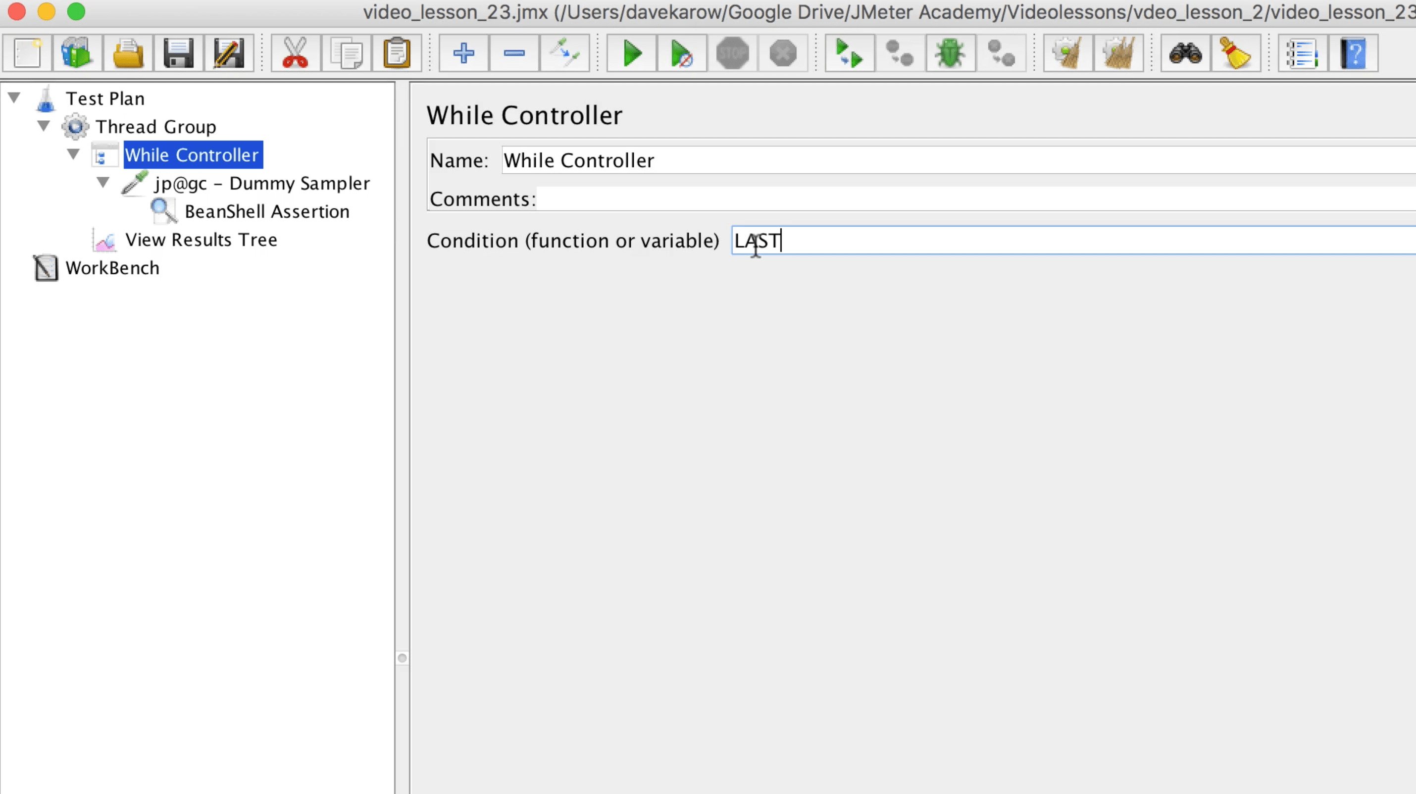 JMeter's Logic Controllers