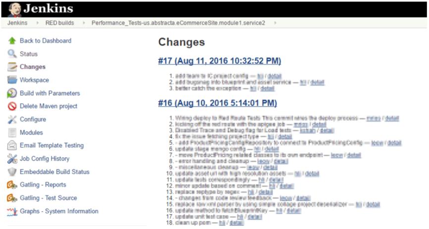 system feedback through CI flows