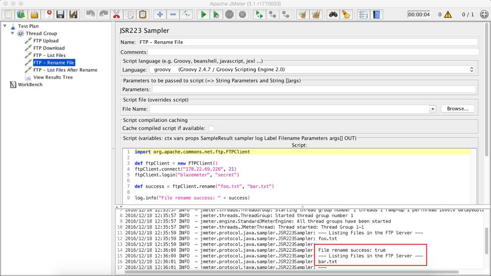 Load Testing FTP and SFTP Servers Using JMeter | BlazeMeter