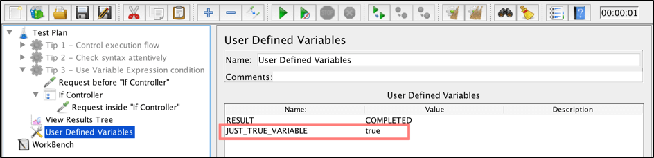 how to use the if controller in jmeter