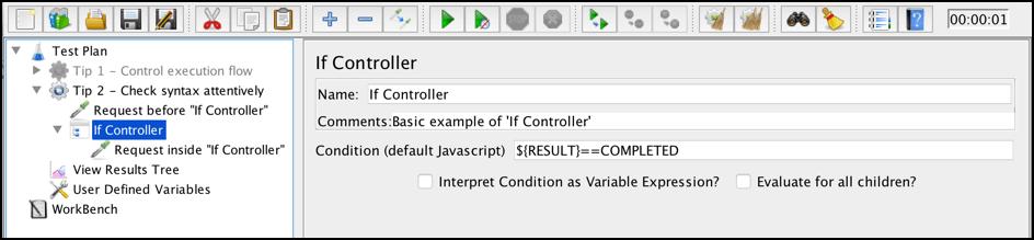如果控制器,我应该怎么做jmeter?