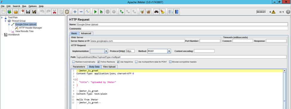 Testing REST API File Uploads in JMeter - DZone Integration