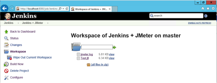 Jenkins Workspace