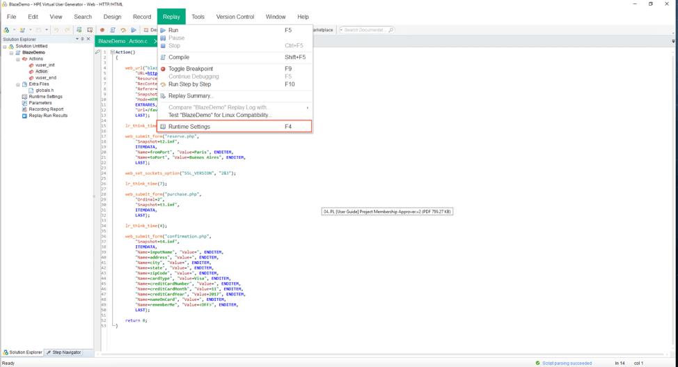 Converting LoadRunner Tests to JMeter