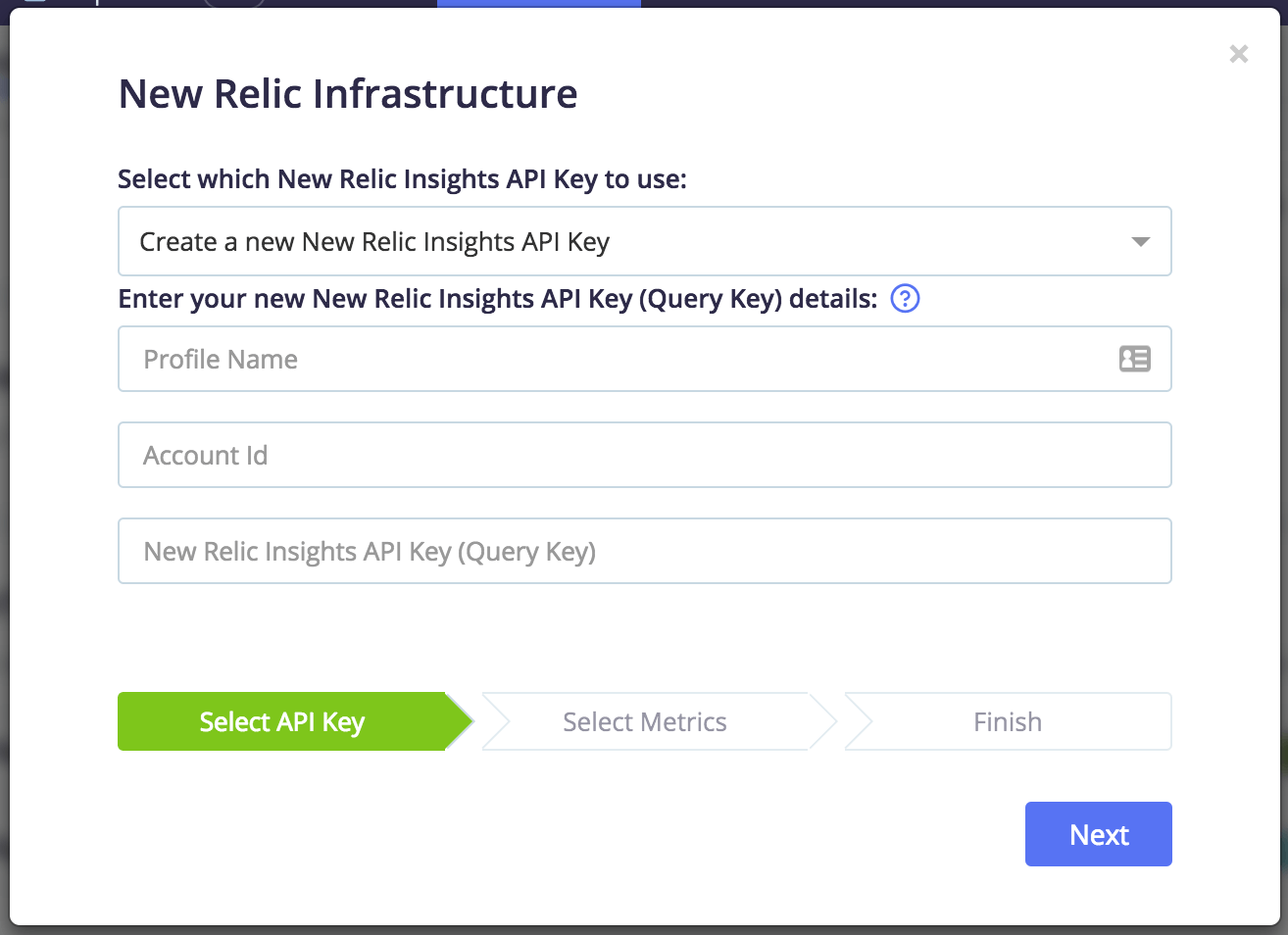 new relic infrastructure integration blazemeter