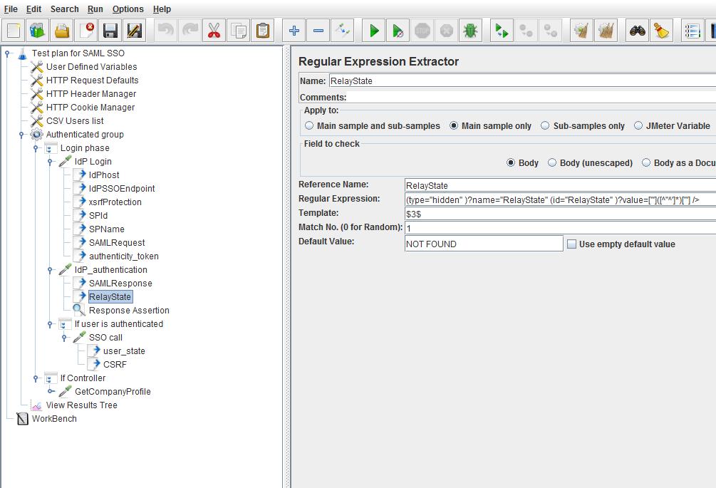 How to Load Test SAML SSO Secured Websites with JMeter | BlazeMeter