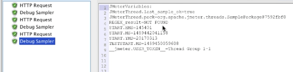 jmeter regex extractor results not found
