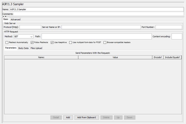 load testing tomcat with jmeter