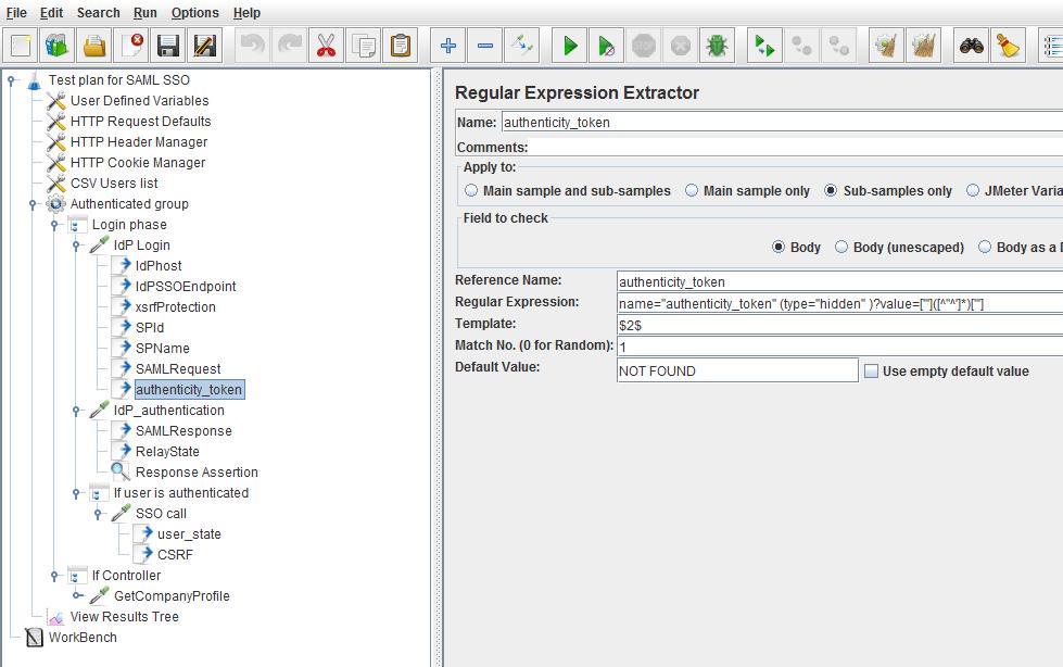 How to Load Test SAML SSO Secured Websites with JMeter