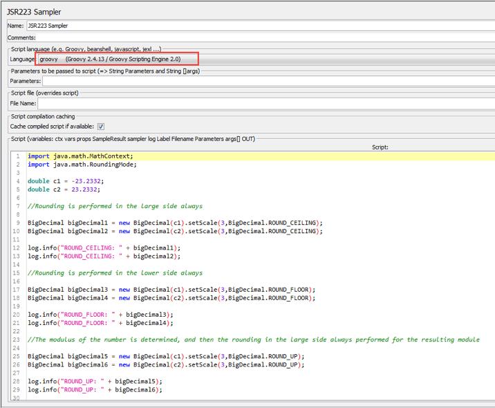 jmeter groovy math information