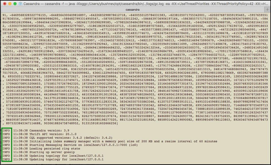 cassandra jmeter load testing