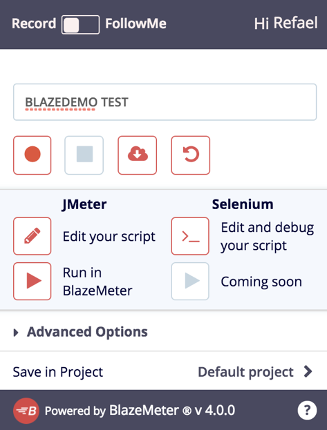 JMeter and Selenium recorder