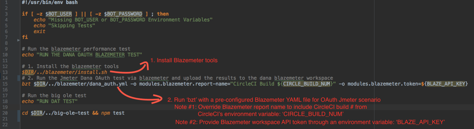 blazemeter, agile central, continuous integration