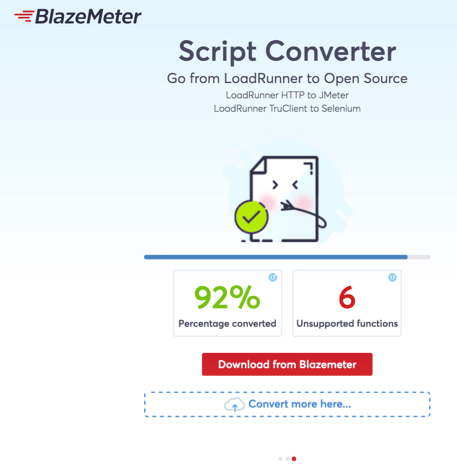 script converter by blazemeter