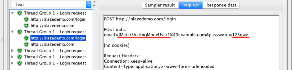 jmeter sharing mode thread groups csv data set config