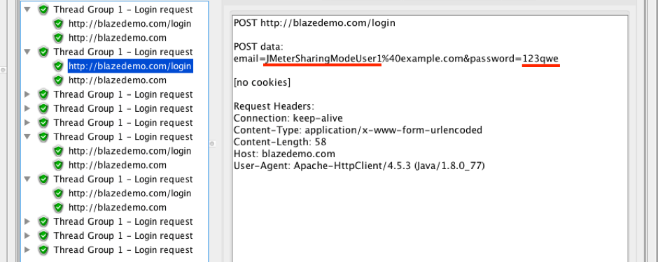 jmeter csv data set config sharing mode