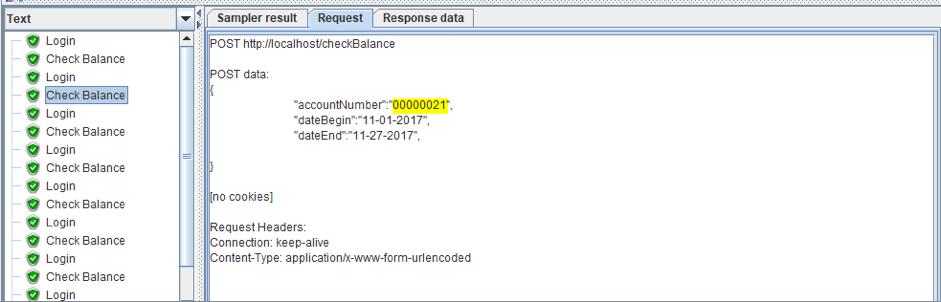 jmeter csv file configuration