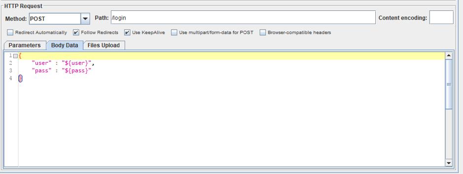 jmeter file parameterization