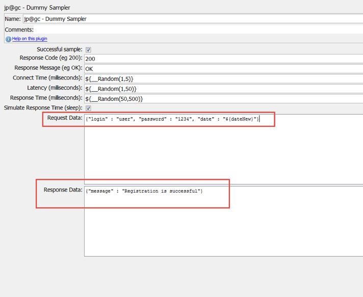 jmeter open source test for dates