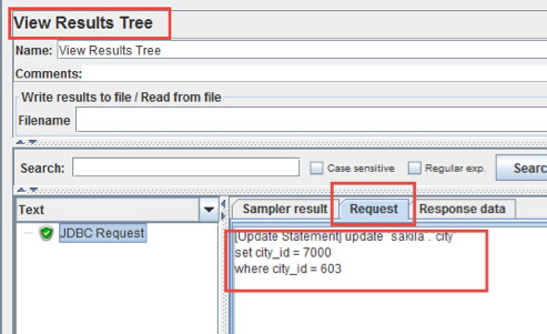 adding data to mysql database with jmeter