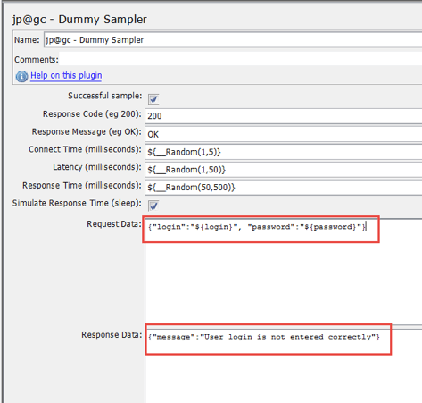 dummy sampler in jmeter script for api testing