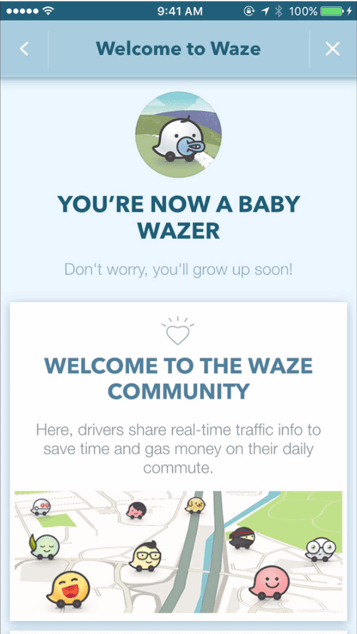 waze product design