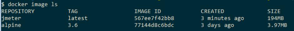 running a jmeter script from a docker container