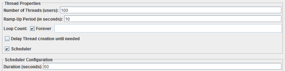 using the throughput controller in jmeter