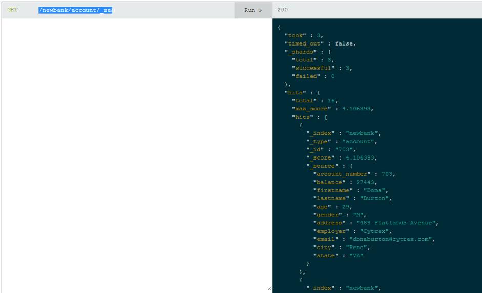 running a jmeter load test on elasticsearch