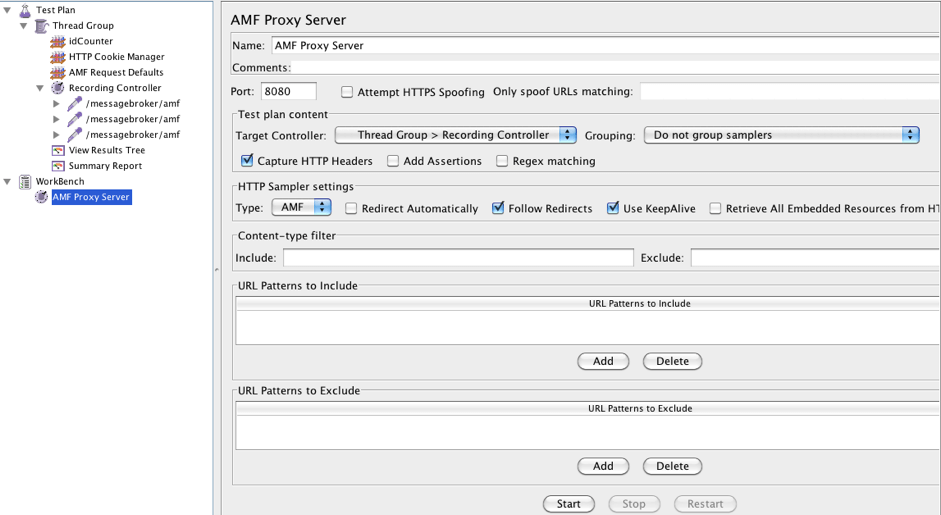 tutorial for performance testing amf protocol apps