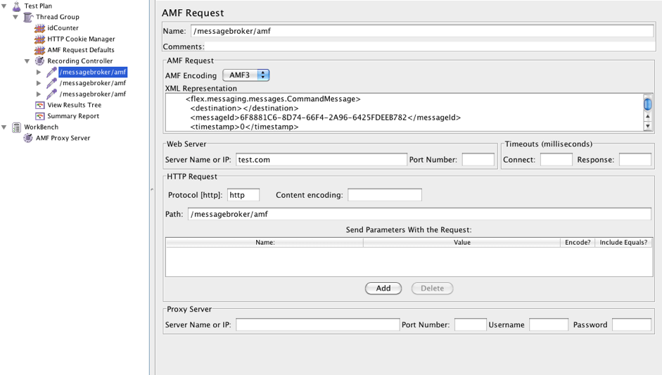 How to Load Test Flex and AMF Protocol Apps with JMeter | BlazeMeter