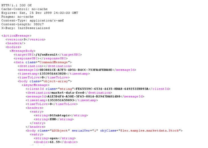 performance testing flex with jmeter