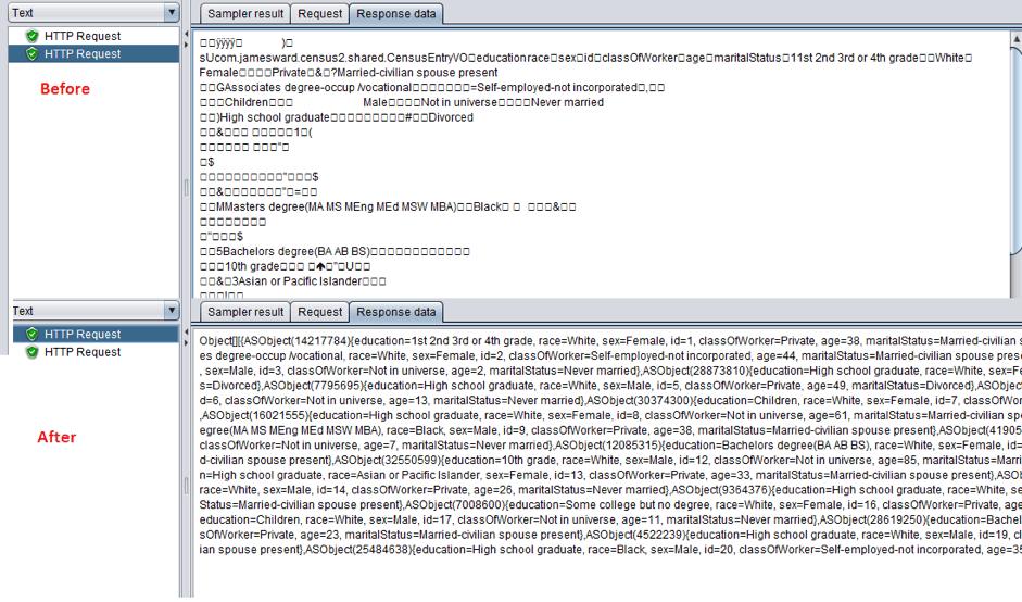 jmeter load testing amf protocol
