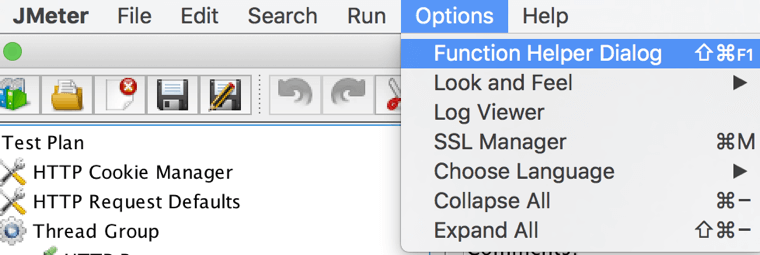 jmeter function help dialog