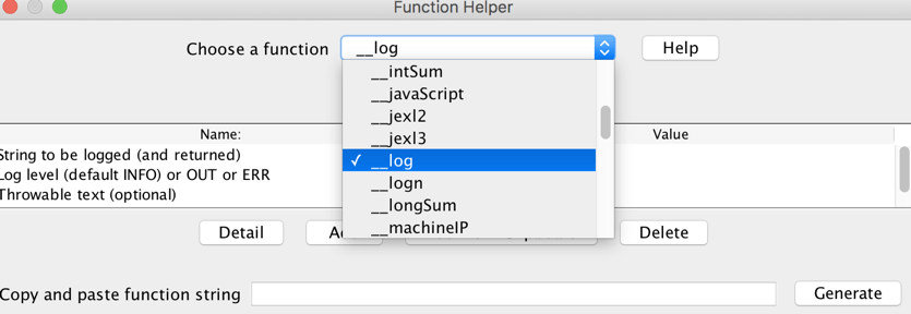 jmeter log function