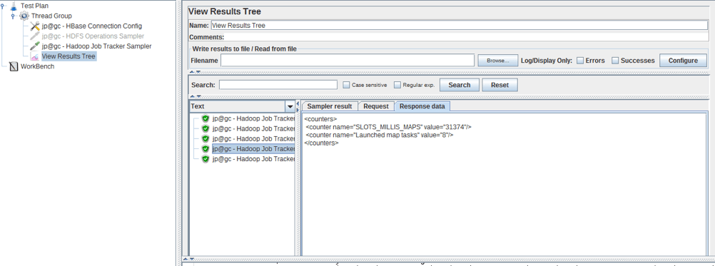 hadoop performance testing with jmeter